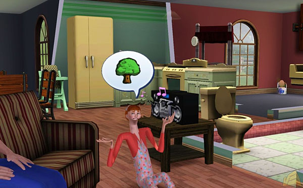how to get a burglar in sims 3 xbox